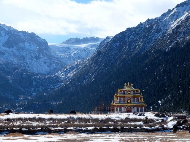 At Dzogchen Monastery