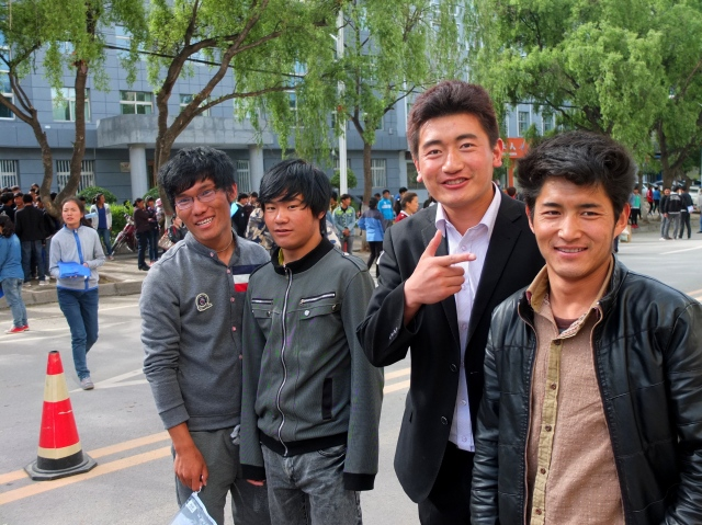 Students post-gaokao